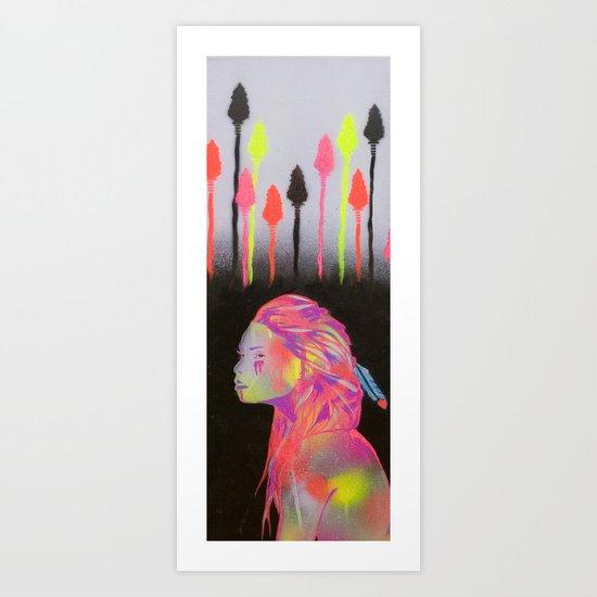 Hunting The City  Art Print