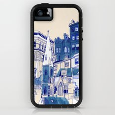 Blue Buildings Adventure Case iPhone (5, 5s)