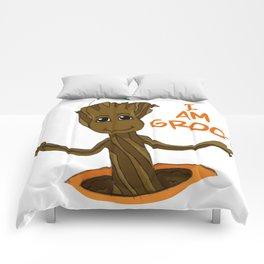 I am Groot Comforters