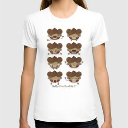 Chestnut Girl Mood T-shirt