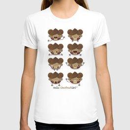 Chestnut Girl Mood T-shirt