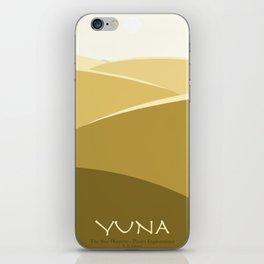 Planet Exploration: Yuna iPhone Skin