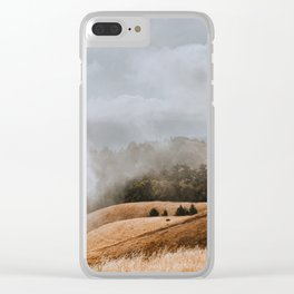 Fog and Clouds on Mount Tamalpais Clear iPhone Case