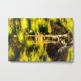 Drowning in seaweed Metal Print