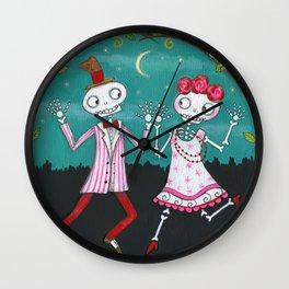 Moonlight Mambo Wall Clock