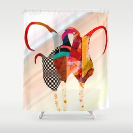 Harlequins Shower Curtain