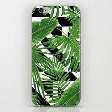tropical geometric iPhone Skin