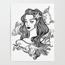 little princess mermaid Poster