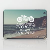 wanderlust iPad Cases featuring Wanderlust by Gumo Andreatta