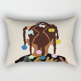 Black Girl Magic No. 2 Rectangular Pillow