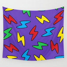 90's Bolt Wall Tapestry