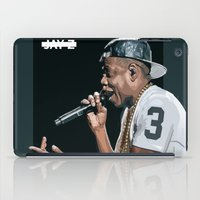 jay z iPad Cases featuring Dirt Off Your Shoulder | JAY Z by visualsbyjay