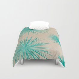 Abstract fireworks Duvet Cover