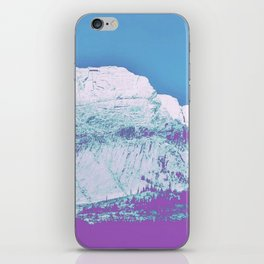 Mountain unexplained iPhone Skin