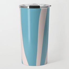 Henri matisse baby pink and sky blue art print, modern home decor Travel Mug
