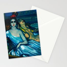 Muses of the Guadalquivir, Venice by Federico Beltran Masses Stationery Cards