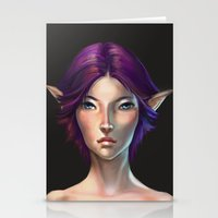 elf Stationery Cards featuring Elf by TanyaGreece