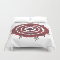 cycle Duvet Covers featuring The Cycle by Hector Mansilla
