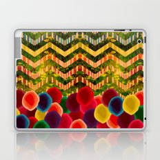 Chevron And Dots Laptop & iPad Skin