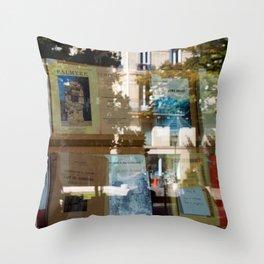 Le Quartier Latin Paris Throw Pillow