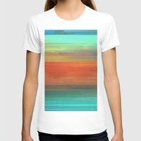 trippy T-shirts featuring Trippy Serape by Cultivate Bohemia