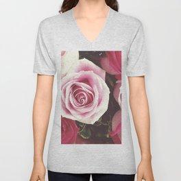 Roses are Love Unisex V-Neck