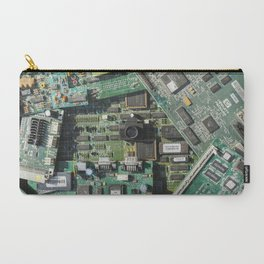 Circuit boards & Tiny Tiny Camera Carry-All Pouch