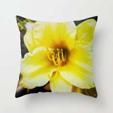 Slow Wilting Beauty Throw Pillow