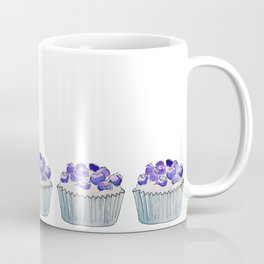 Blueberry Cupcake Coffee Mug