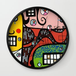 the UNCSCRUPULOUS NONSENSICAL IRREPRESSIBLY INFINITESIMAL INFESTATION of GREED Wall Clock