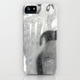 Hand Hearts iPhone Case