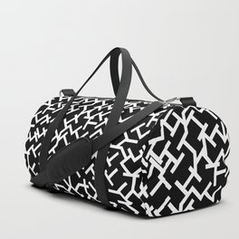 Geometric Labyrinth Duffle Bag