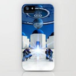 Future Santorini iPhone Case