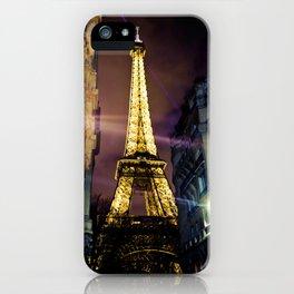 Paris La Nuit iPhone Case