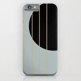 Less is More #minimal #art #buyart iPhone Case