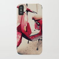 vespa iPhone & iPod Cases featuring vespa by iokk