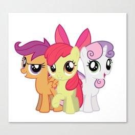 My Little Pony: Cutie Mark Crusaders Canvas Print