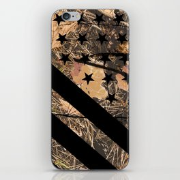 Hunting Camouflage Flag 3 iPhone Skin