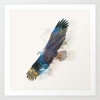 the national Art Prints featuring National Icon by Quick Brown Fox