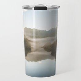 Fog on the River Travel Mug