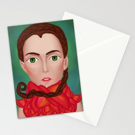 Extraterrestrial Pixie Stationery Cards