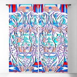 Litmus lion pattern ecopop Blackout Curtain