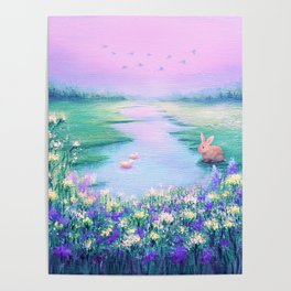 Pools of Blessing After Rain Poster