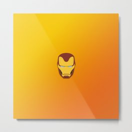 Infinity War Iron man Metal Print