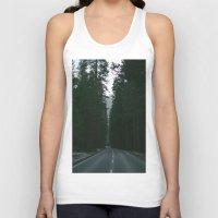 yosemite Tank Tops featuring Yosemite  by Andre Elliott