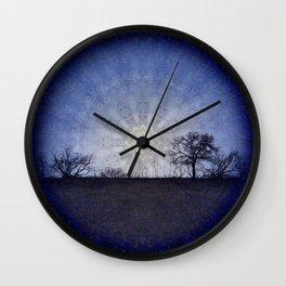 Celestial Clockwork Wall Clock