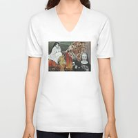 sister V-neck T-shirts featuring Sister by Nicki Hynes