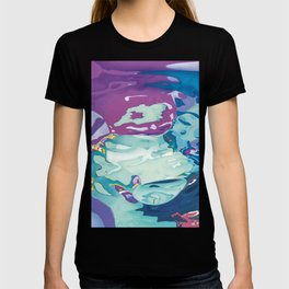 Violet living underwater T-shirt
