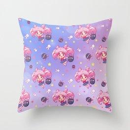 New Chibiusa Pattern Throw Pillow