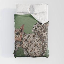 Squirrel Totem Comforters